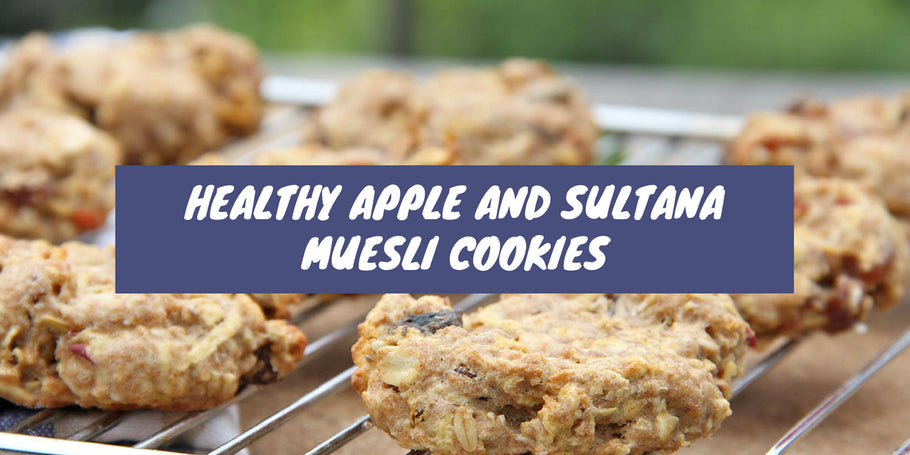 Recipe: Healthy Apple and Sultana Muesli Cookies