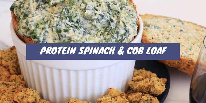 Recipe: Protein Spinach and Cob Loaf
