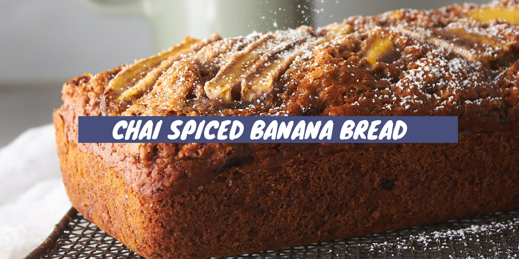 Chai Spiced Banana Bread Recipe