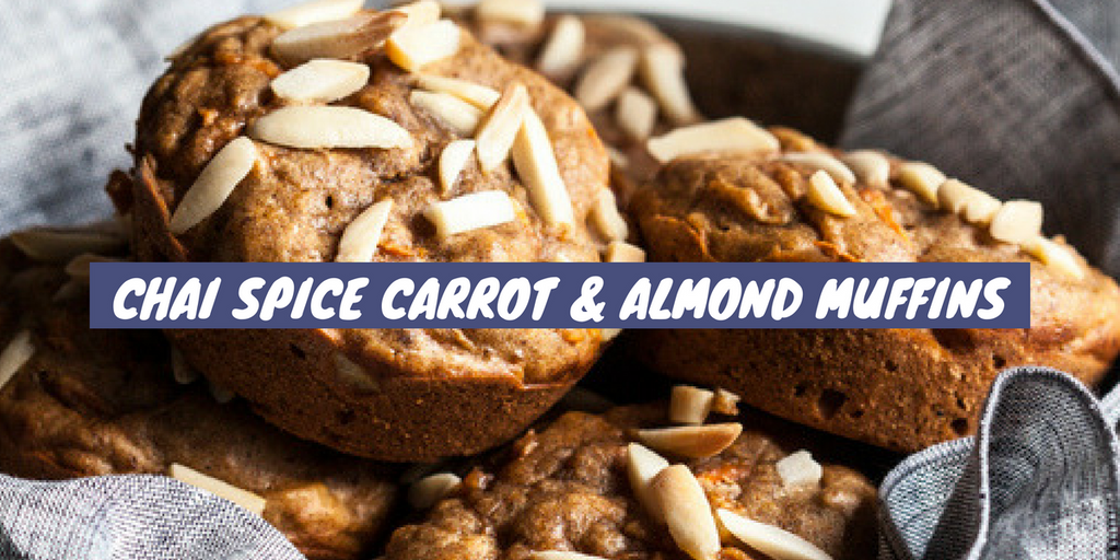 Chai Spice Carrot and Almond Muffins Recipe
