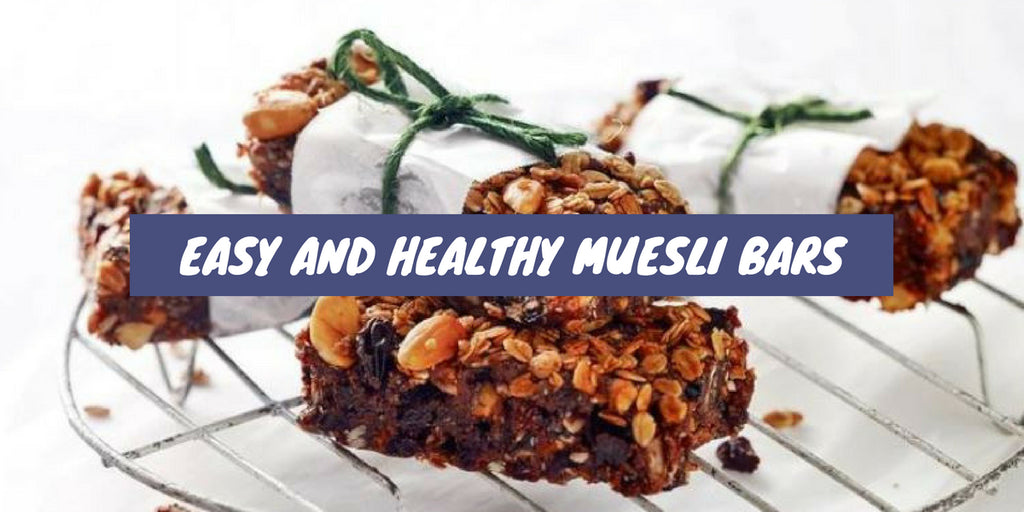 Easy and Healthy Muesli Bars