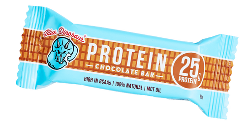 Blue Dinosaur Protein Bars - Chocolate (12 x 60g Bars)