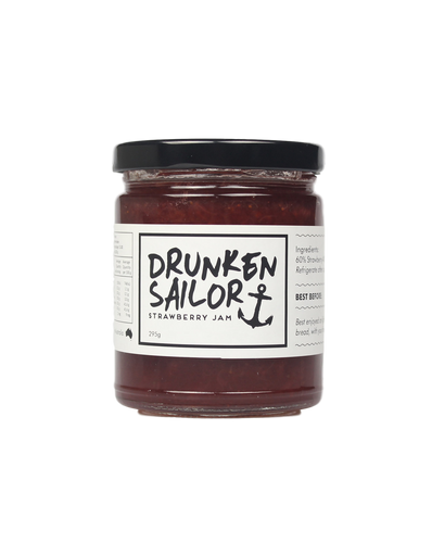 Strawberry Jam 295g by Drunken Sailor