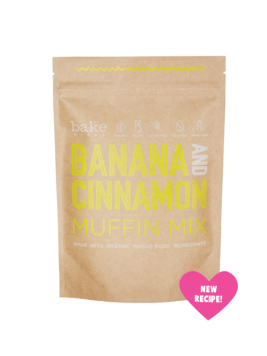 Banana and Cinnamon Muffin Mix 250g by Bake Mixes