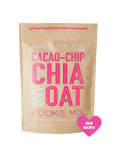 Cacao-Chip, Chia & Oat Cookie Mix 250g by Bake Mixes