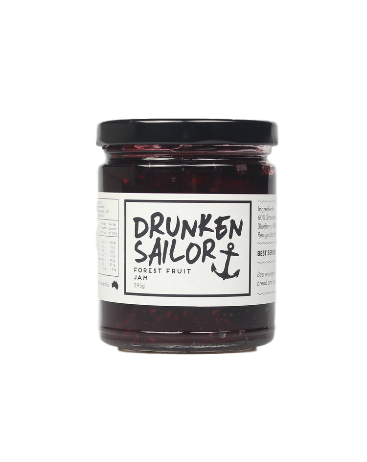 Forest Fruit Jam 295g by Drunken Sailor