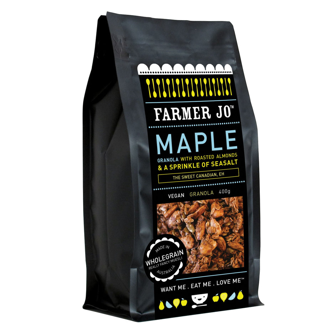 Farmer Jo - Maple Granola with Roasted Almonds 400g