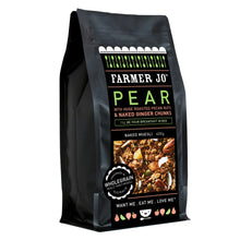 Farmer Jo - Pear, Pecan Nuts and Ginger Baked Muesli 400g