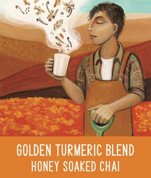 Golden Turmeric Blend Chai 250g by The Fresh Chai Co