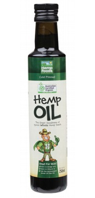 Hemp Seed Oil 250ml by Hemp Foods Australia