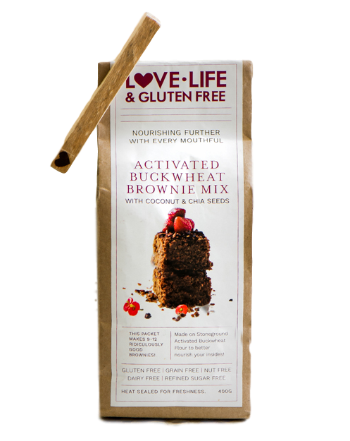 Buckwheat Brownie Mix 400g by Love Life & Gluten Free