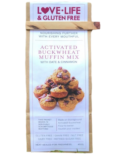 Activated Buckwheat Muffin Mix 450g by Love Life & Gluten Free