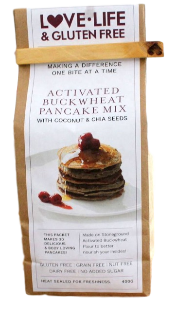 Buckwheat pancake mix 400g by love life gluten free ginos activated buckwheat pancake mix 400g by love life gluten free ccuart Choice Image