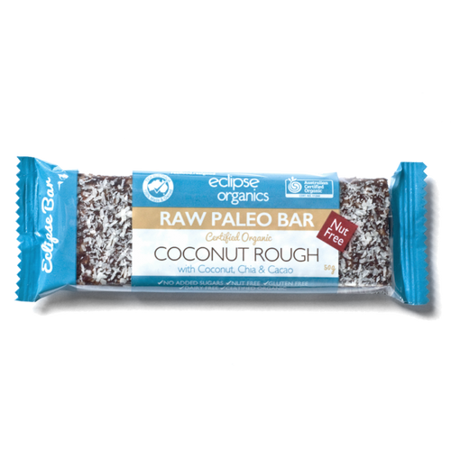 Eclipse Organics Raw Paleo Bar: Coconut Rough (Organic) 50g