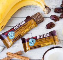 Blue Dinosaur Paleo Bars - Banana Bread (12 x 45g Bars)