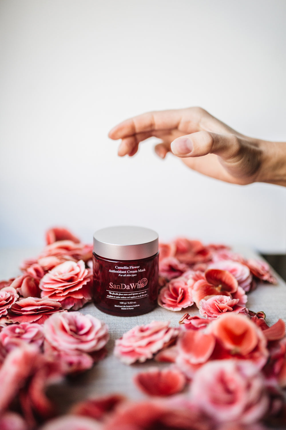 Camellia Flower Antioxidant Cream Mask 100g