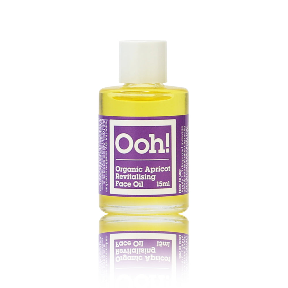 Organic Apricot Revitalising Face Oil