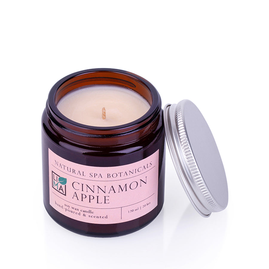 Sojawachskerze CINNAMON APPLE 120 ml