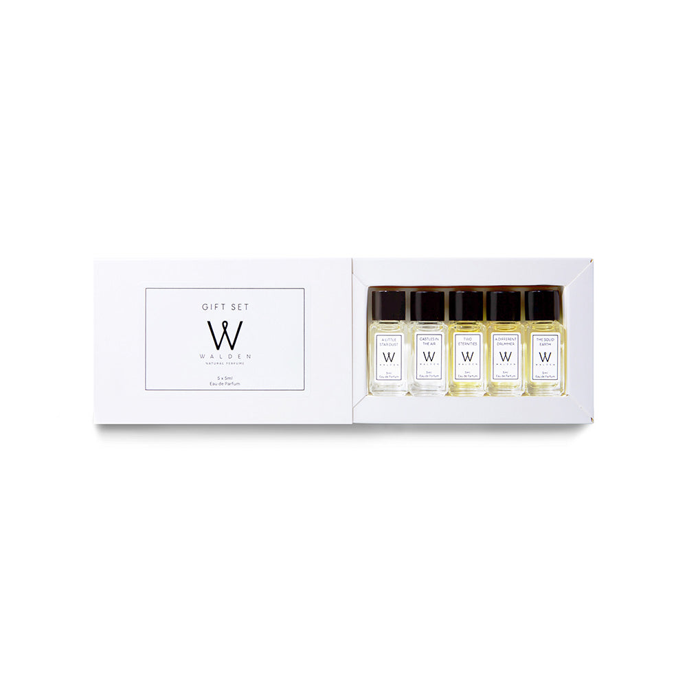 Walden Natural Perfume Gift Set 5 x 5 ml
