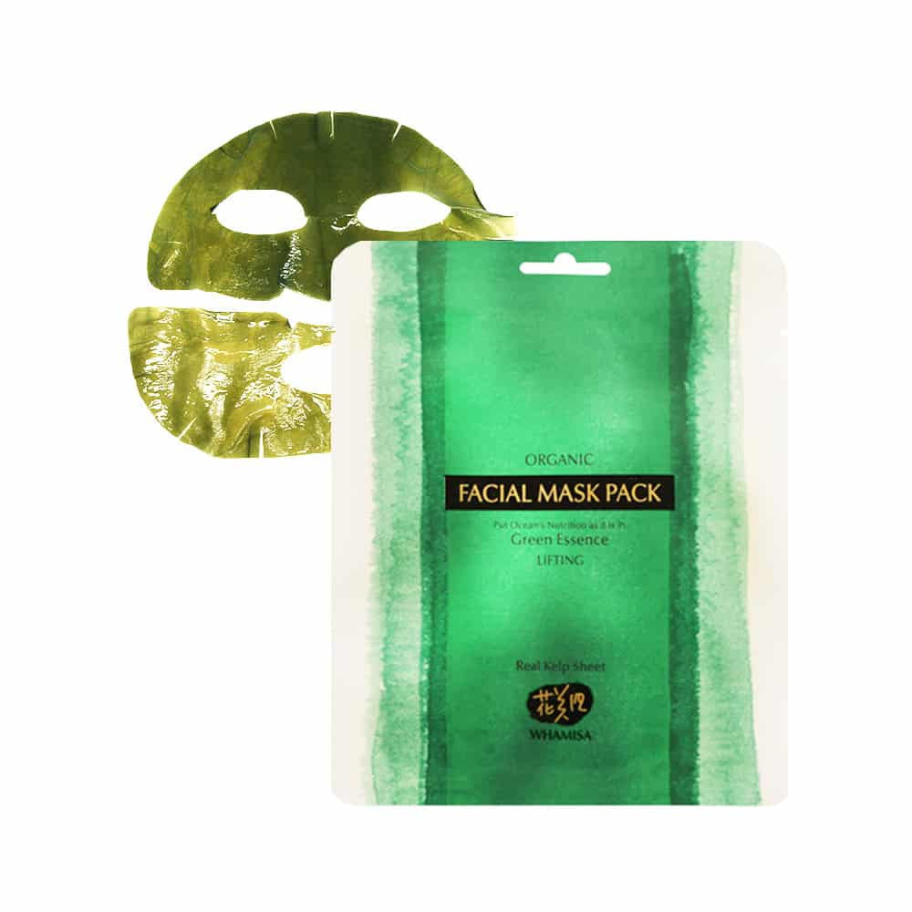 Organic Sea Kelp Facial Sheet Mask 30 g