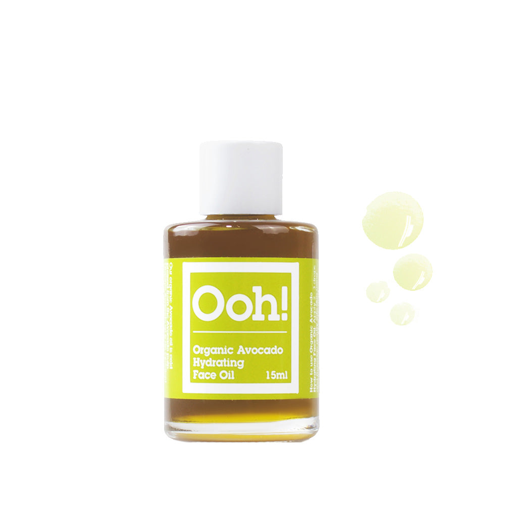 Organic Avocado Hydrating Face Oil