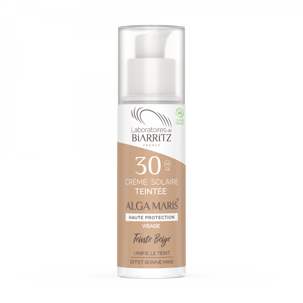 Sun Screen Tinted Face Cream SPF30 Beige 50ml