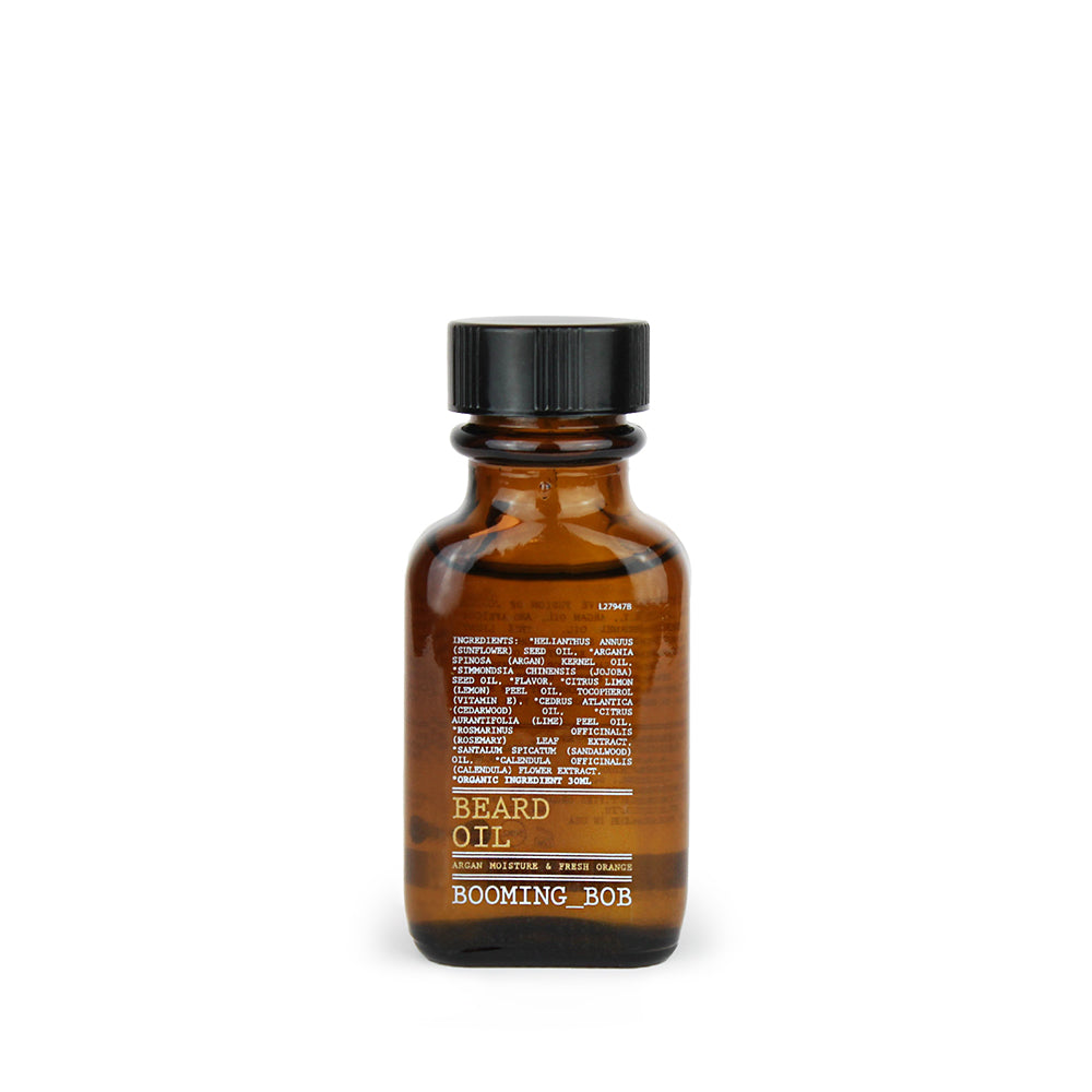 Beard Oil, Argan moisture & fresh Orange 30ml