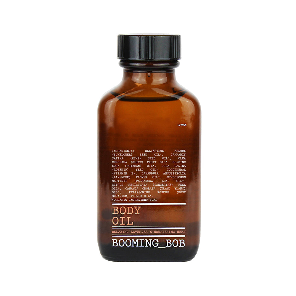Body Oil, Relaxing Lavender & nourishing Hemp 89ml