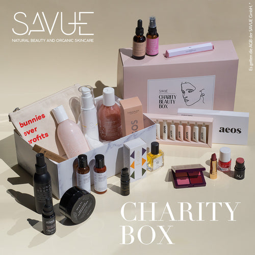 SAVUE BEAUTY FOR CHARITY BOX