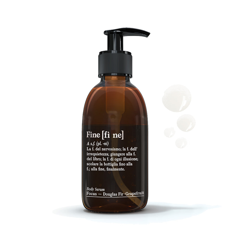Fine Body Serum Focus Douglas Fir-Grapefruit 200 ml