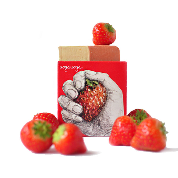 Ciao Strawberry! - Soap with Strawberry Extract 100g