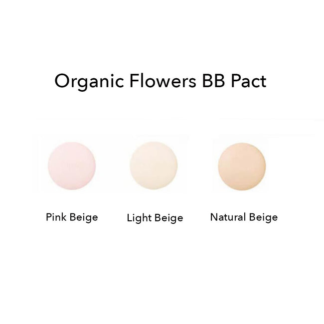 Organic Flowers BB Pact LSF 50+ Natural Beige 16g