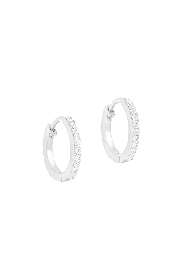 14k White Gold Celestial Sleepers