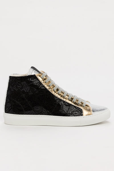 Star 2.0 Sneaker (Black Lace)