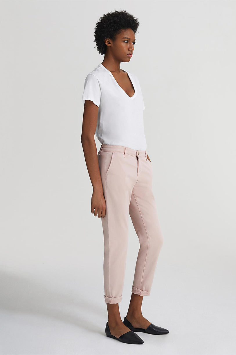 The Caden Pant in Peaked Pink