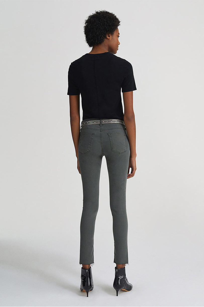 The Legging Ankle in Ash Green