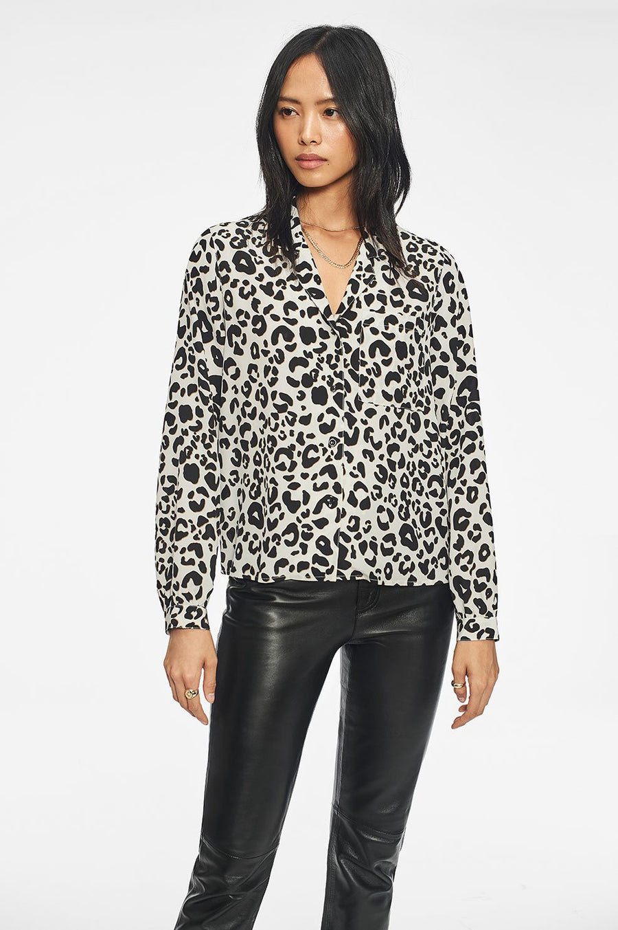 Lilah Shirt in Leopard