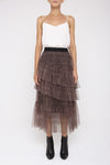Tulle Cheetah Skirt