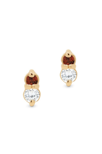 FIRE STUD EARRINGS
