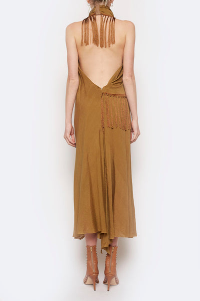 Ephemeral Halter Dress