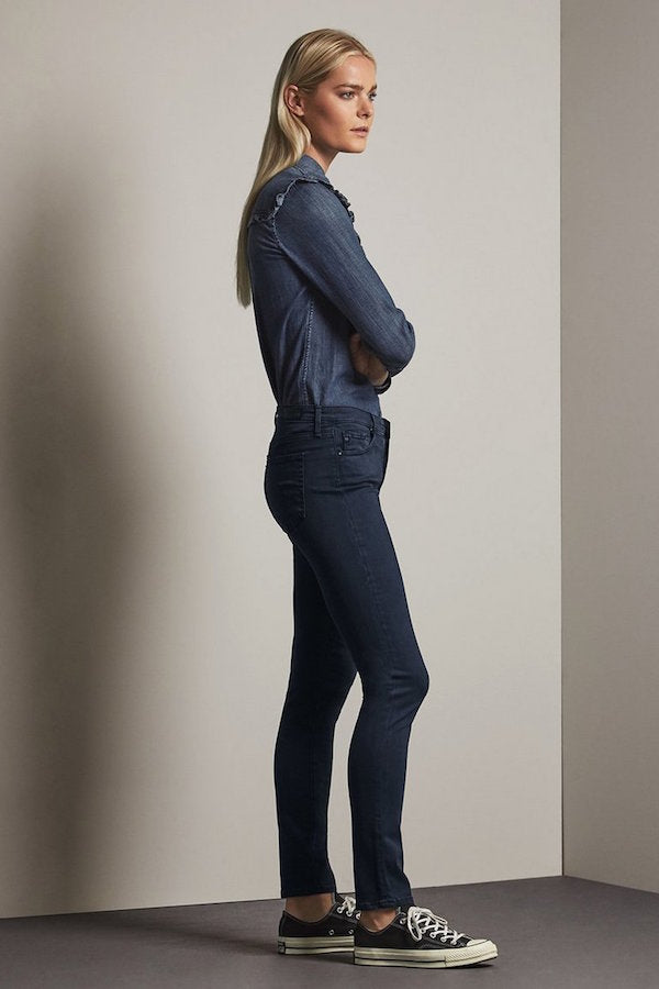 The Prima Jean in Immersed Cav Blue