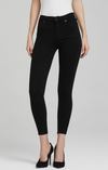 Rocket Crop Jean (All Black)