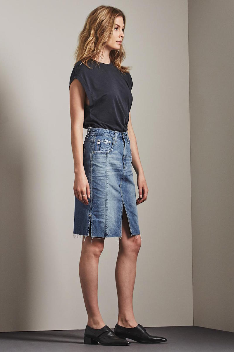 The Emery Skirt (18 Yrs Blue Fawn)