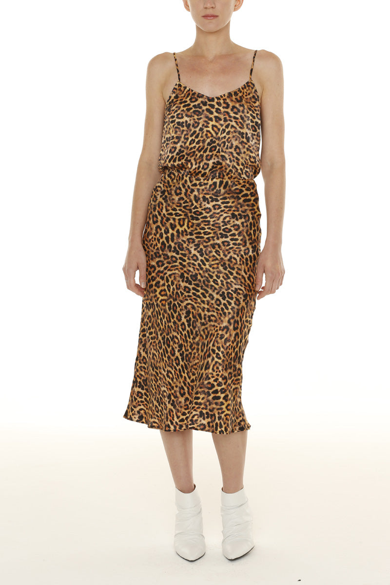 London Leopard Skirt