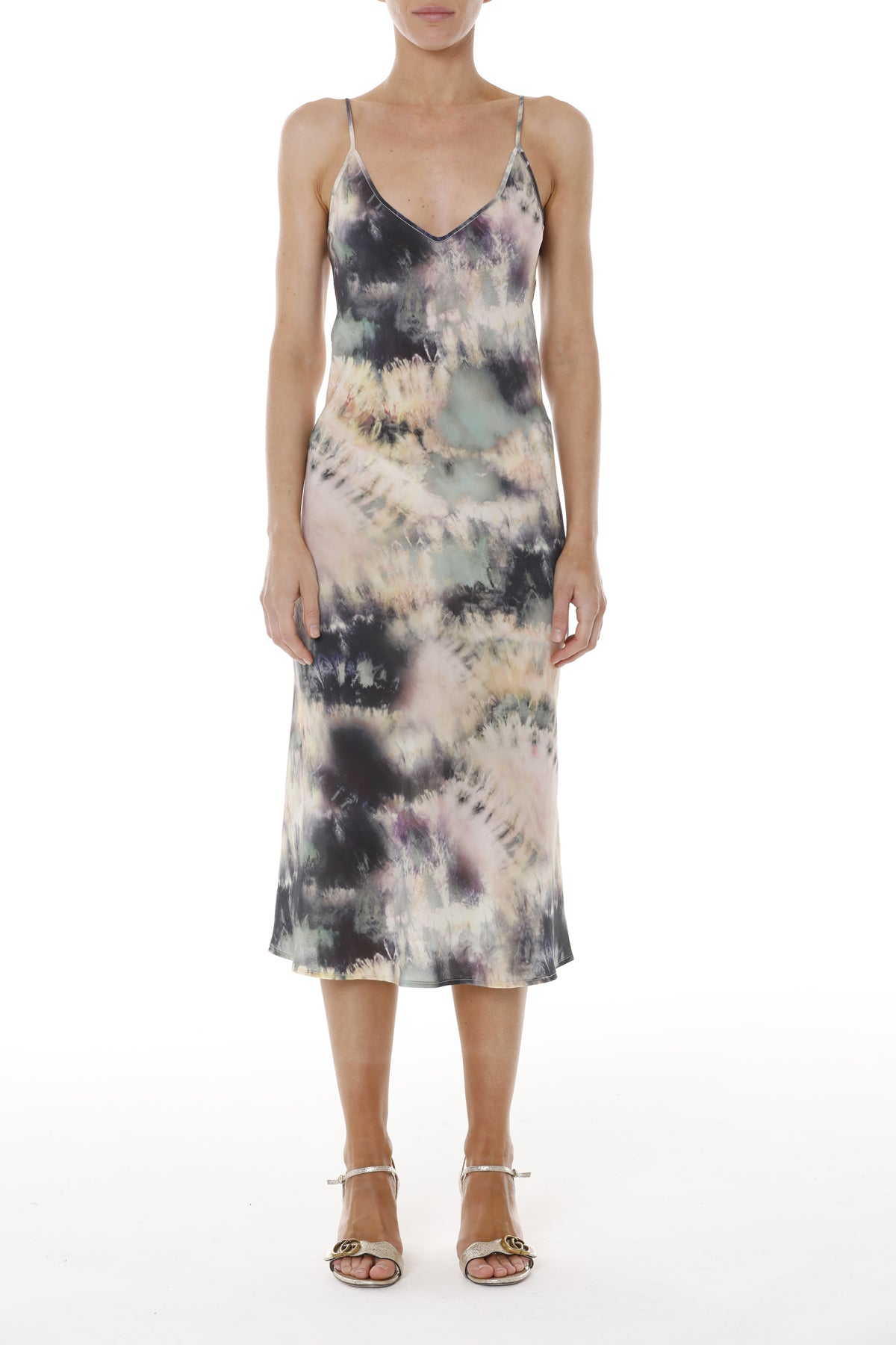 AMA New York Dress - Pink Tie Dye