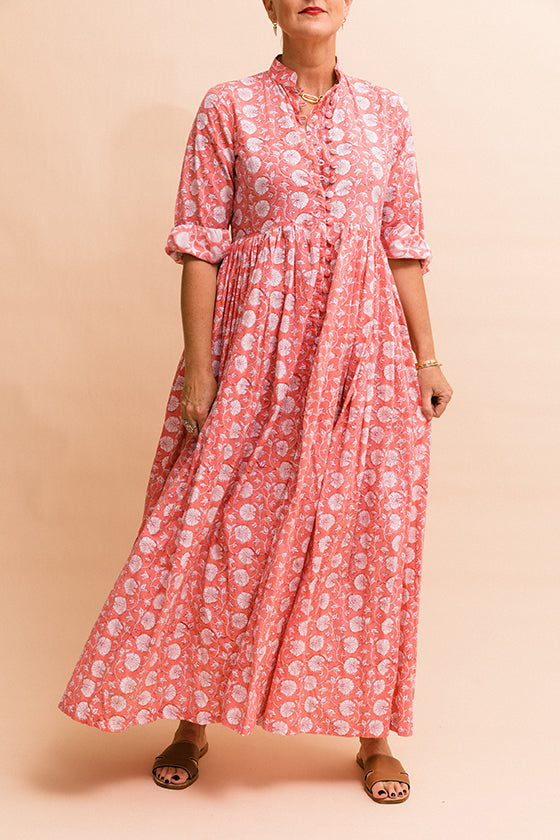 Paloma Dress - Watermelon