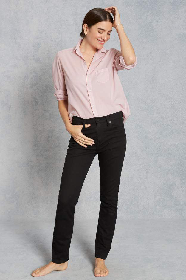 Eileen Button Down Poplin Shirt