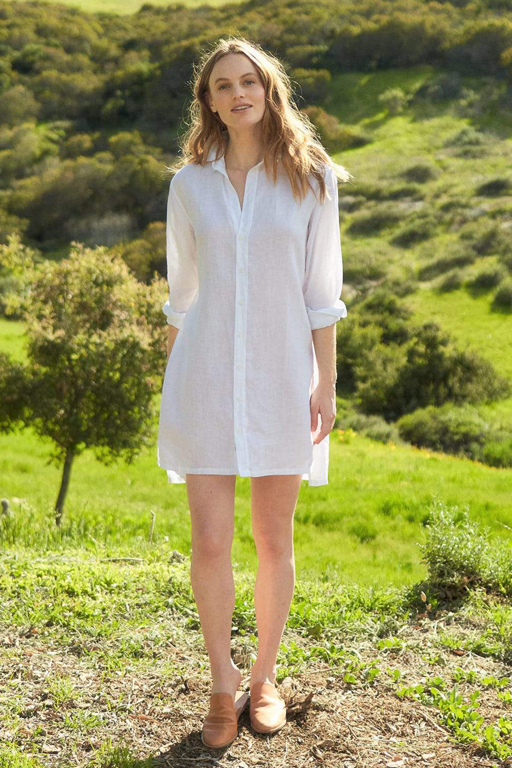 Hunter Shirt Dress