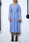 Peace Hemp Shirt Dress