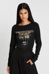 Endangered Tiger Long Sleeve Tee